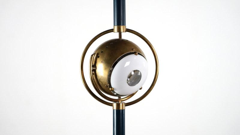 Angelo Lelli Eye Detail down Lamp for Arredoluce,