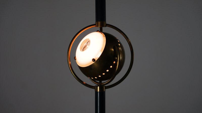 Angelo Lelli Eye Lamp for Arredoluce