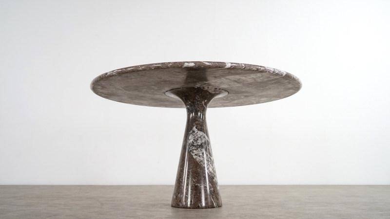 angelo mangiarotti table underneath