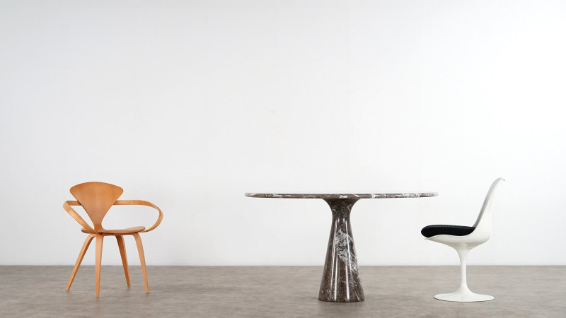 angelo mangiarotti table side view