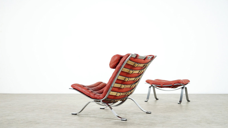 Arne Norell Ari Lounge Chair backside