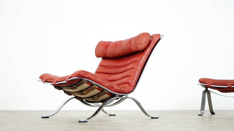 Arne Norell Ari Lounge Chair front left