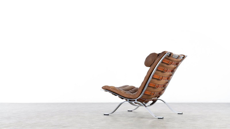 Backside View Arne Norell Chair