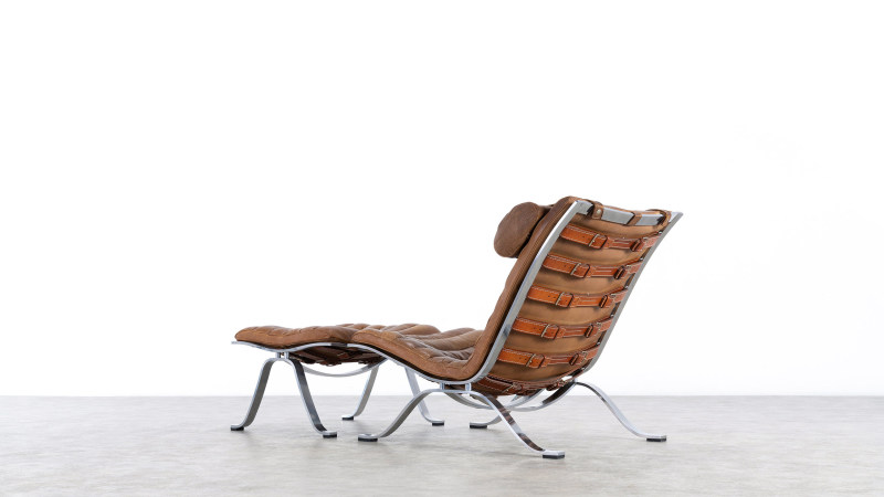 Arne Norell Chair Sideview