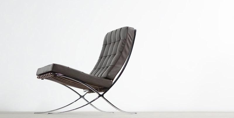 Barcelona Chair van der Rohe Knoll