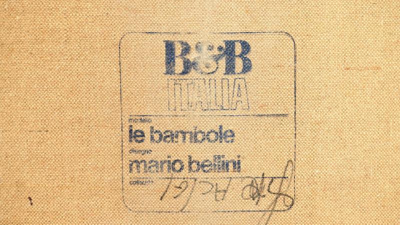 Mario Bellini Bambole Sofa signature