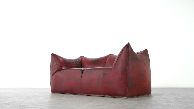 Mario Bellini Bambole Sofa low view