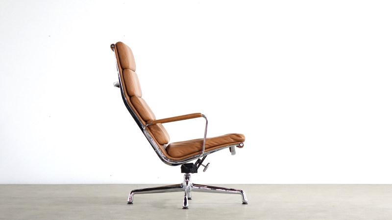 Charles Eames Aluminium Lounge Chair EA 224 Vitra
