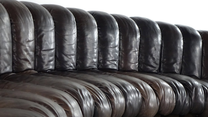 de sede sofa 600 leather element detail