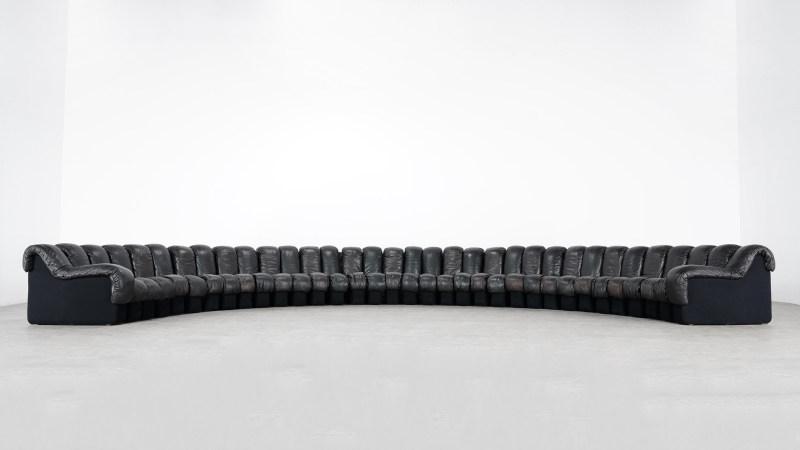 de sede sofa 600 shooting floorview