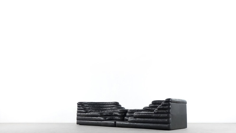 de sede terrazza sofa side view