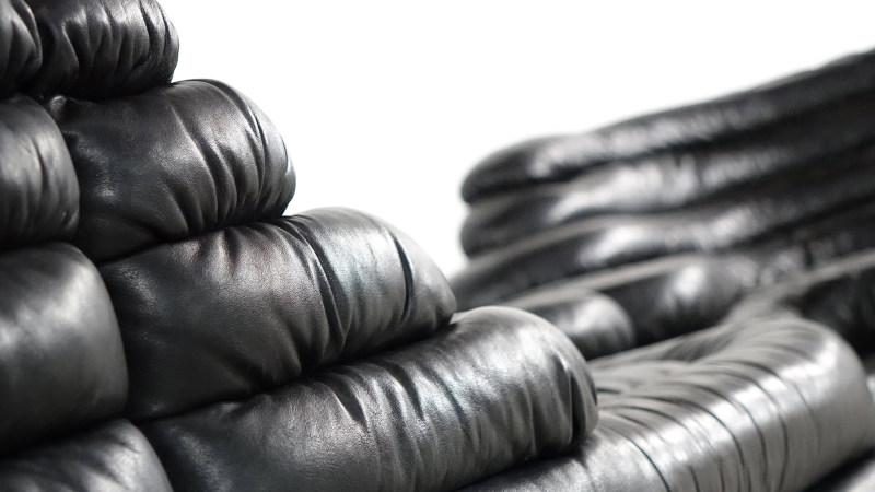 de sede terrazza sofa ds 1025 leather closeup