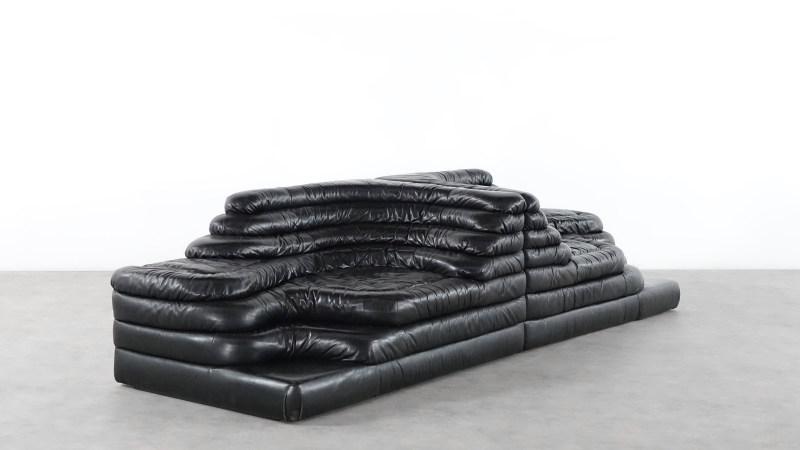de sede terrazza sofa vintage leather