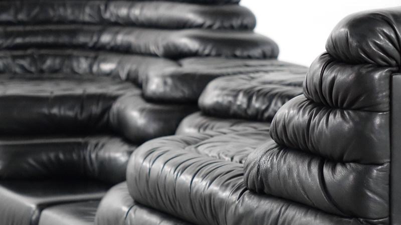 de sede terrazza sofa closeup detail