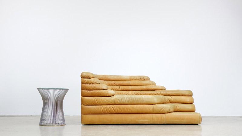 de sede terrazza sofa warren platner table