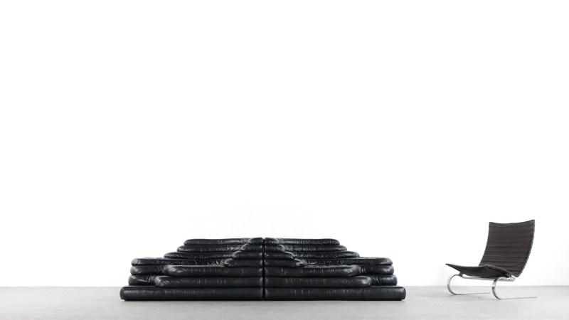 de sede terrazza sofa front view