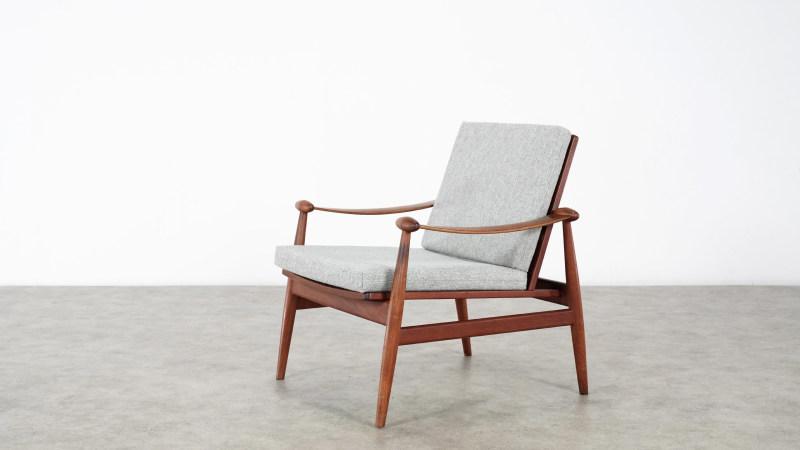finn juhl spade chair top view