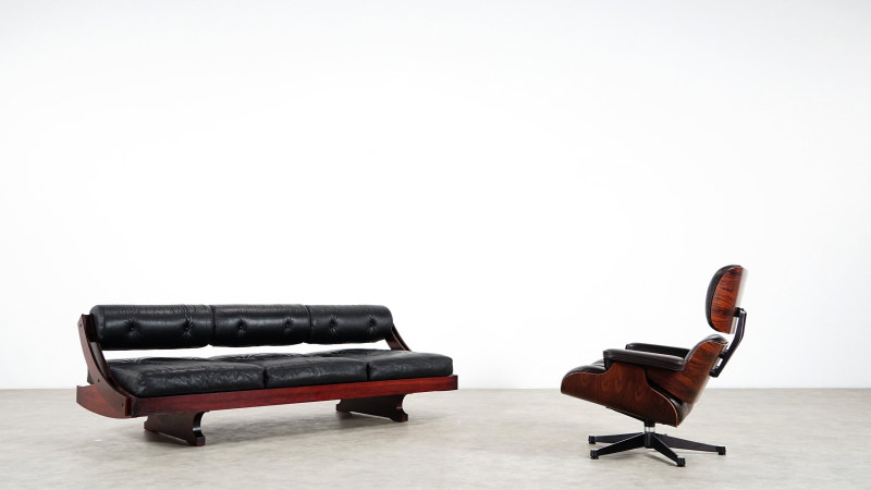 Gianni Songia Daybed Eames lounge chair