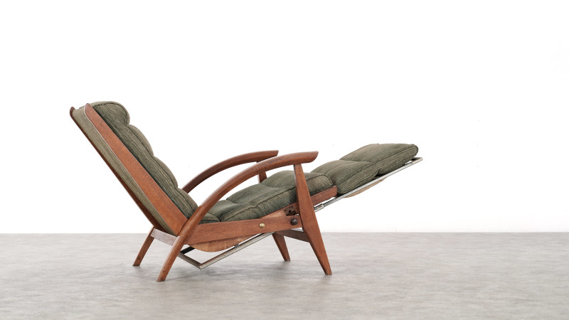 Guy Besnard Lounge Chair sideview