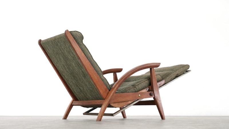 Guy Besnard Lounge Chair sideway