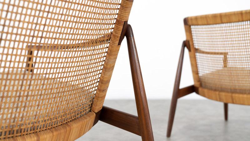 Hartmut Lohmeyer Chair for Wilkhahn backside view
