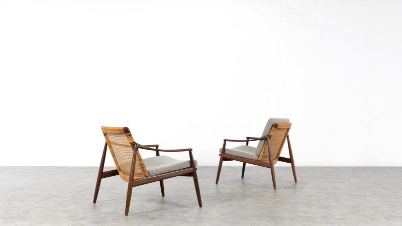 Hartmut Lohmeyer Chair for Wilkhahn, 2 chairs
