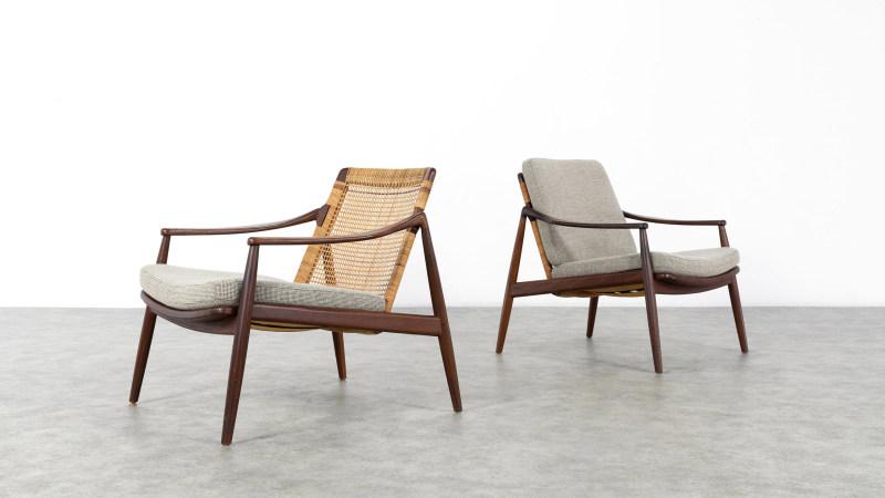 Hartmut Lohmeyer Chair, Kvadrat Upholstery