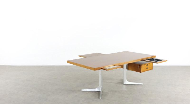 herbert hirche desk top holzäpfel