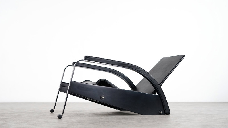 jean prouve grand repos chair tecta left