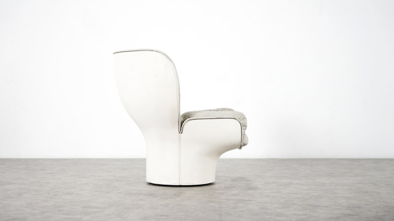 Joe Colombo; Elda Chair right side