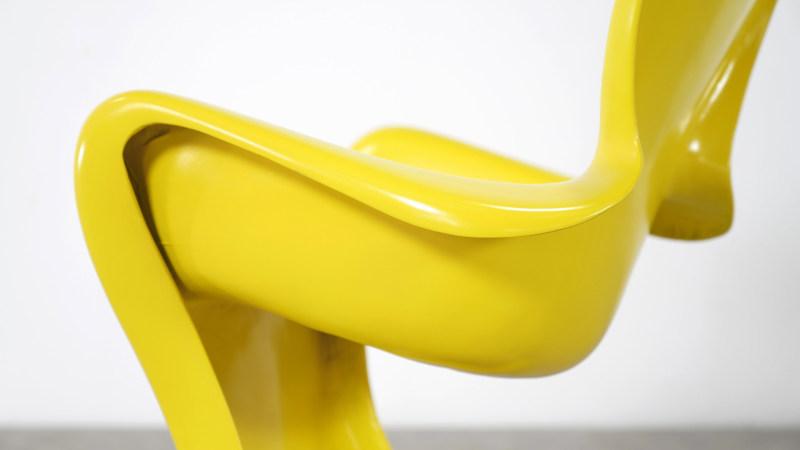 Luigi Colani Chair back detail
