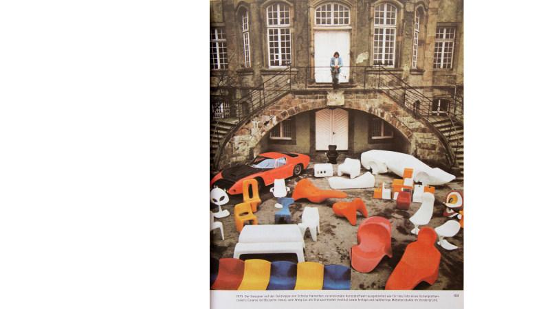 Luigi Colani Chair schloss harkotten