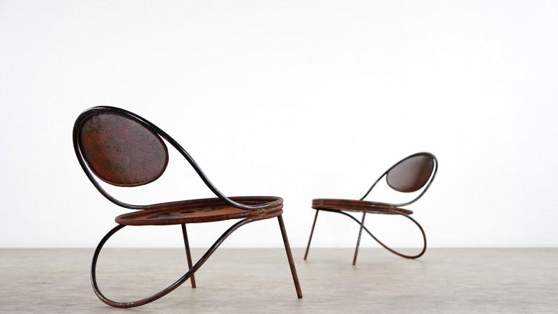 mathieu mategot copacabana chair from atelier mategot