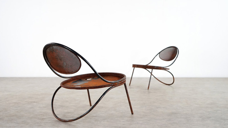 mathieu mategot copacabana chair set