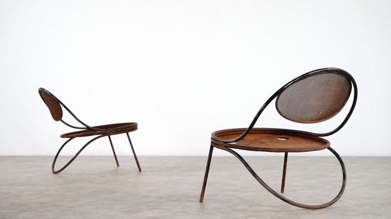 mathieu mategot copacabana chair large view