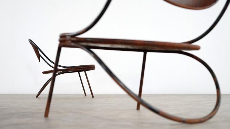 mathieu mategot copacabana chair construction detail