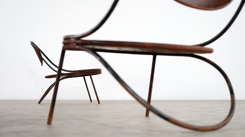 mategot copacabana chair detail of back