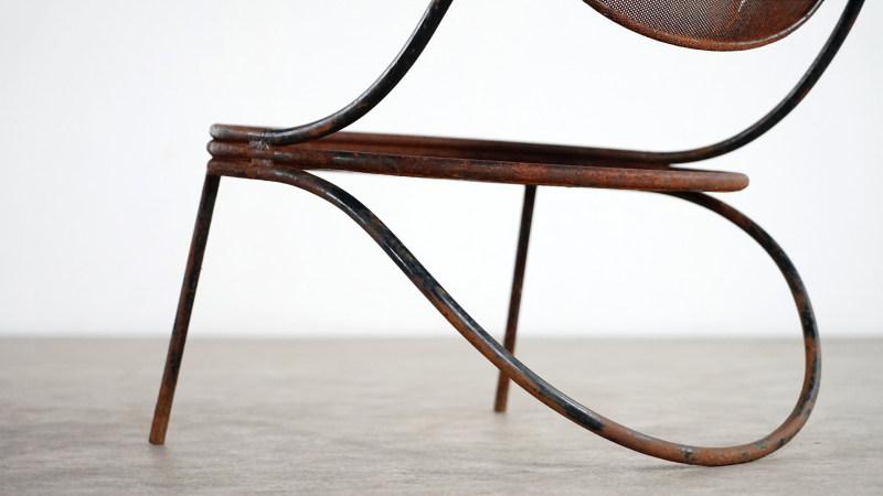 mathieu mategot copacabana chair foot detail