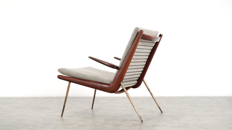 peter hvidt boomerang chair back view 4
