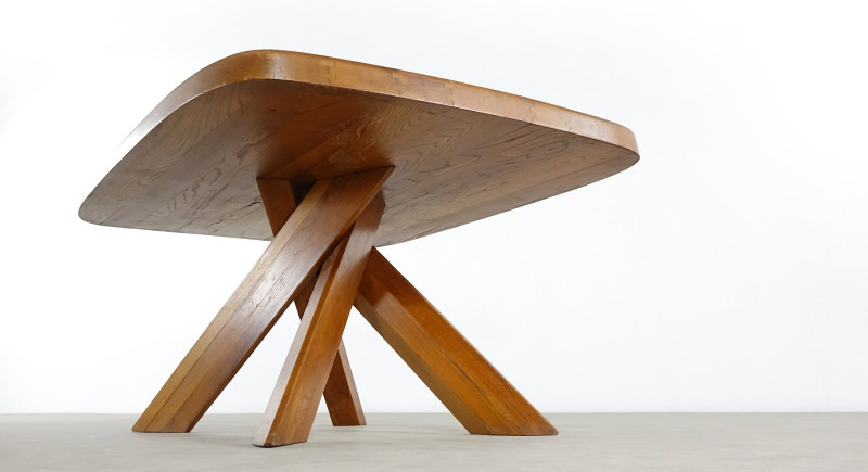 Pierre Chapo table charlotte perriand