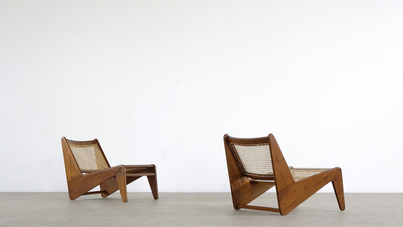 Pierre Jeanneret Kangourou Lounge Chair Chandigarh Touchaleaume India studio zorrobot