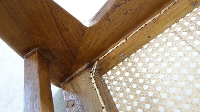 Pierre Jeanneret Kangourou Lounge Chair Chandigarh Touchaleaume India detail