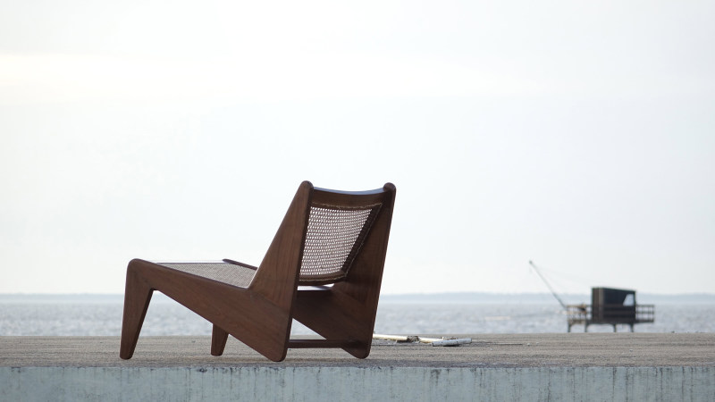 Pierre Jeanneret Kangourou Lounge Chair Chandigarh Touchaleaume India the indian adventure