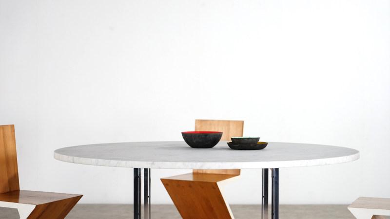 poul kjaerholm table detail top