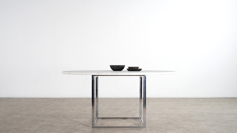 poul kjaerholm table side view