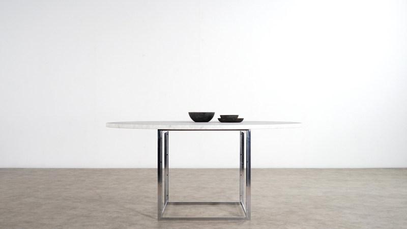 poul kjaerholm table side view