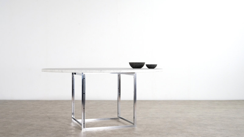 poul kjaerholm table kold christensen side view