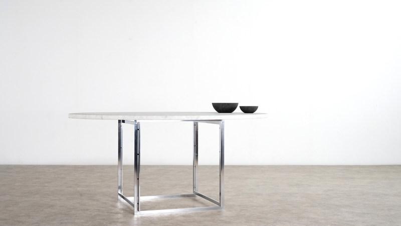 poul kjaerholm table kold christensen side view