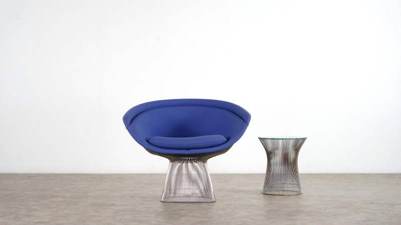 Warren Platner Chair front