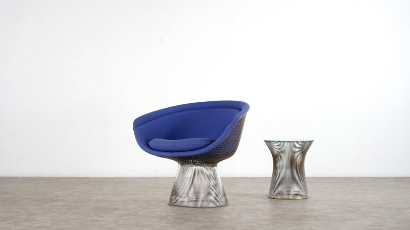 Warren Platner Chair and table